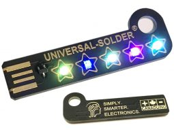 5 Stars For The Customer Gadget – USB LED Keychain DIY Kit