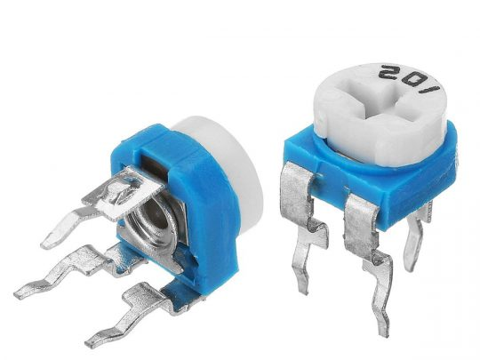 65 pcs Trim Potentiometer RM065 100 Ohm to 1M, 13 Values, 5 pcs Each