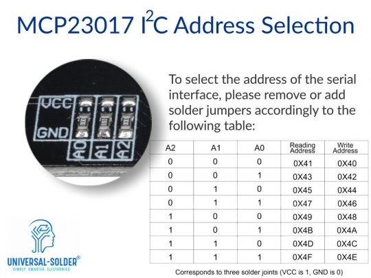 MCP23017 interface adapter I2C to parallel converter for 12864 LCD