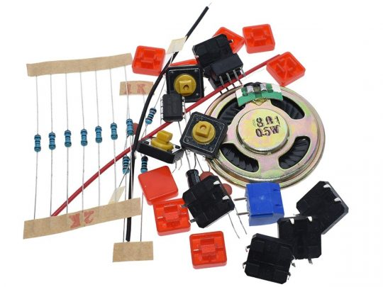Electronic Piano DIY Solder Learning Kit with NE555