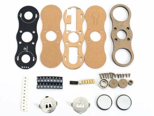 Digital LED light effect Fidget Spinner DIY kit