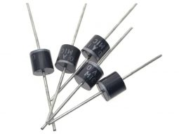 5 x High-Voltage High-Current Rectifier Diodes R6 Package 10A – 1000V