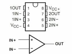 10 x TL082 TL082CN Operational Amplifier OPA IC in DIP-8 Package