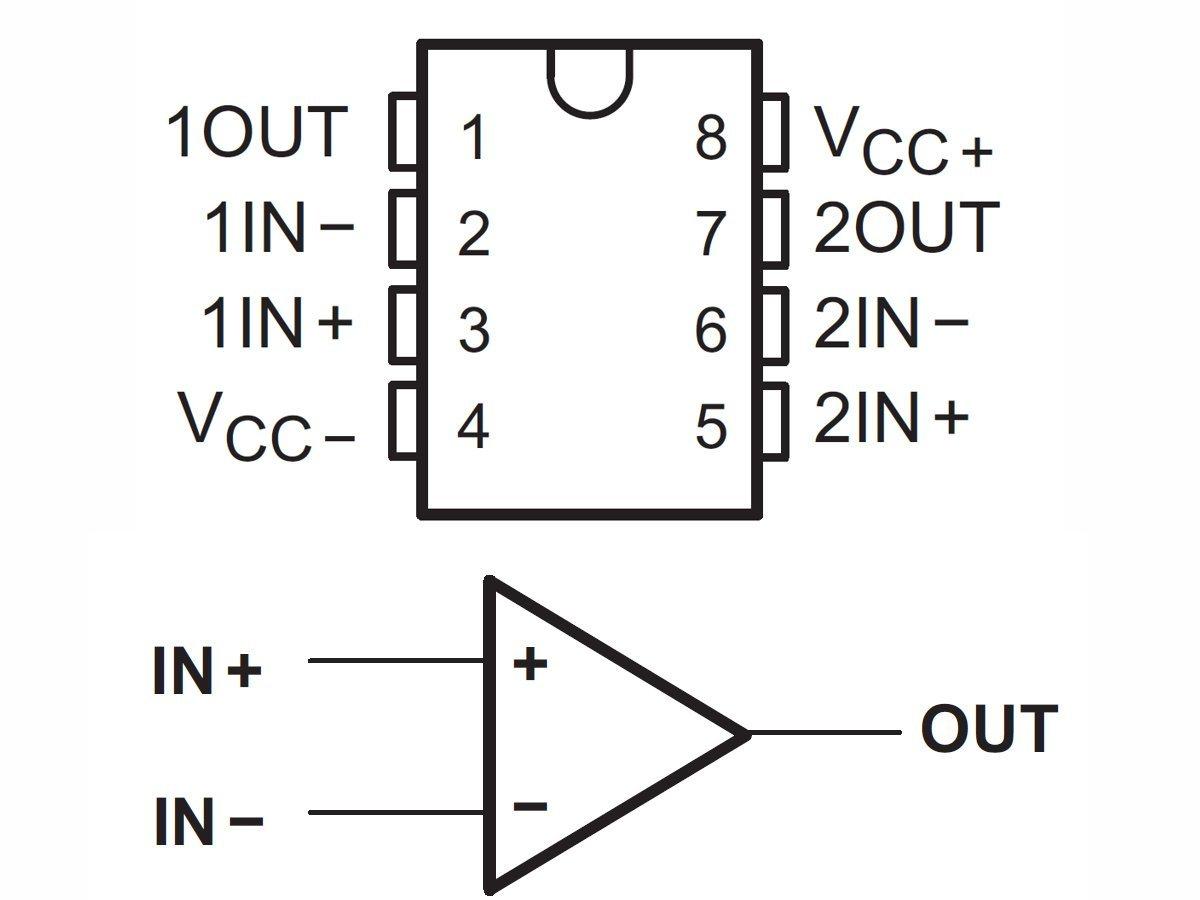 10 x tl082 tl082cn operational amplifier opa ic in dip