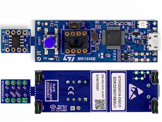 STM32G031 Discovery Kit – Featuring STM32G031J6M6 MCU with 64MHz