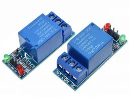2 x Relay Board Single 10A / 250V – Opto-Insulated Input 3-24V