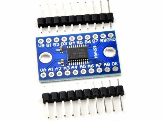 2 pcs TXS0108E Logic Level Shifter 8-Channel 1.8V 3.3V 5V