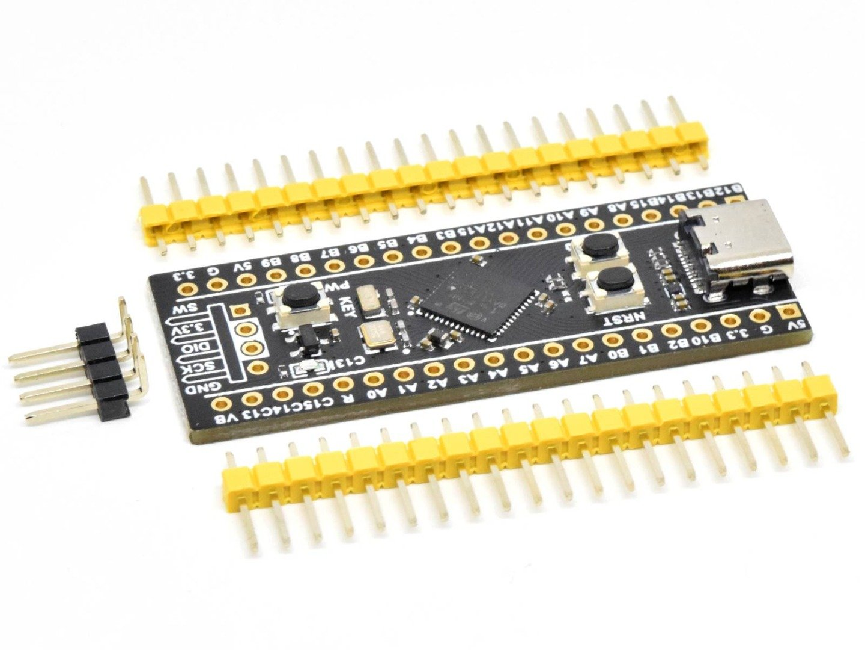 CANADUINO STM32 Black Pill WeAct V3.1 (NEW) STM32F411CEU6 100MHz – 512kB Flash