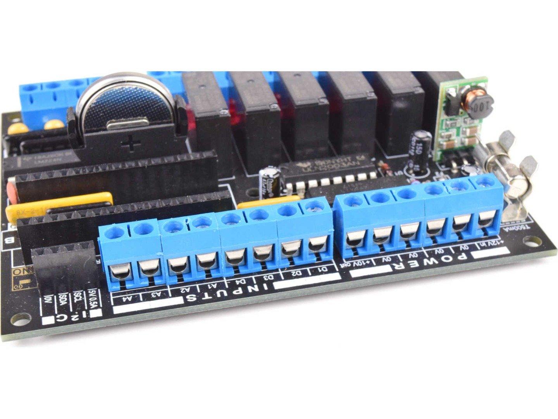 CANADUINO PLC MEGA328 Electronics DIY Kit (100% compatible with Arduino)