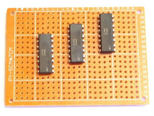 5 pcs 50×70 mm Prototyping Perfboard