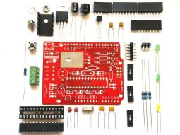 "CANADUINO Uno Bone ""Maxxx"" – rugged Arduino Uno R3 DIY Kit"