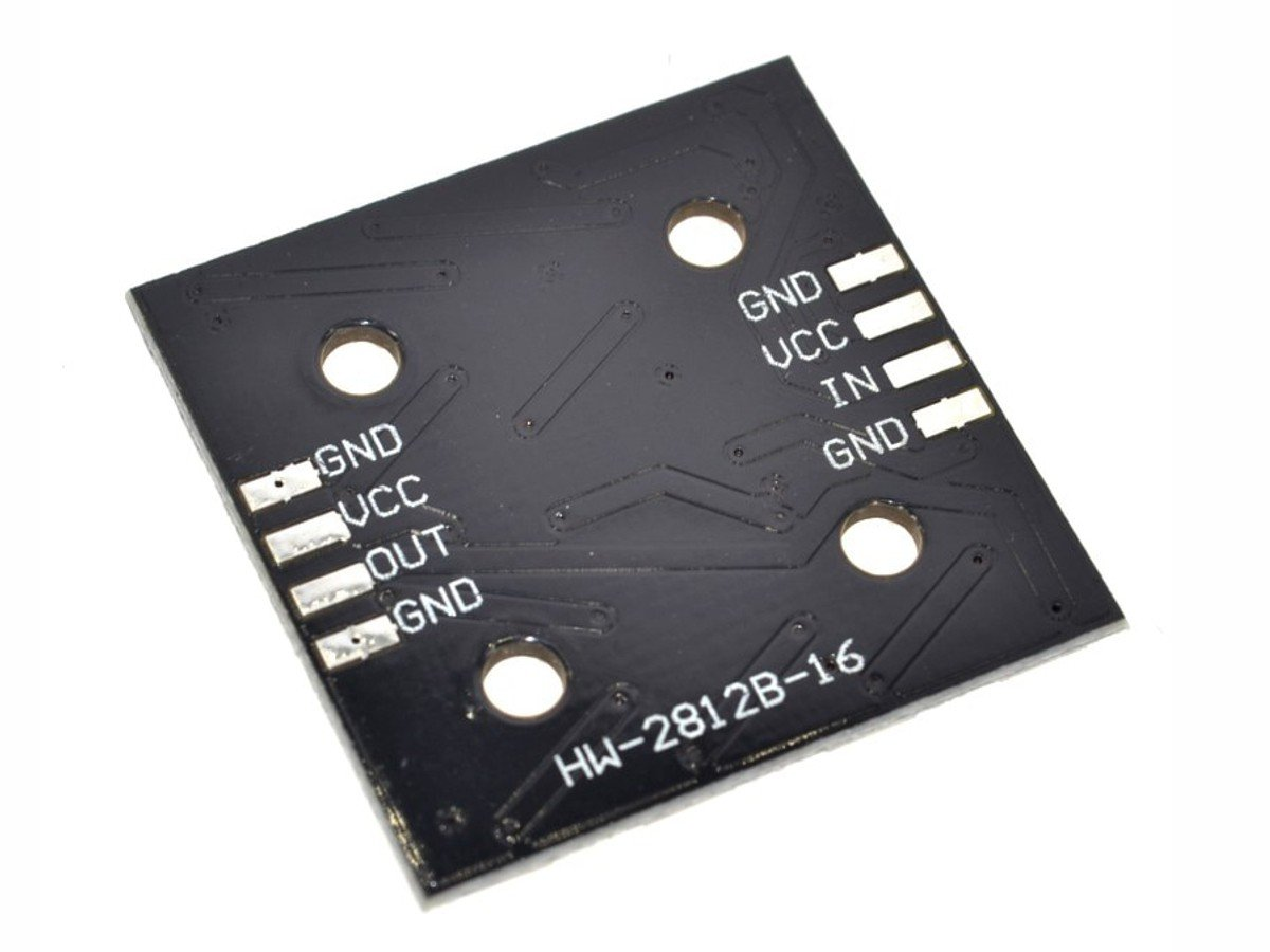 CANADUINO RGB LED Matrix 4×4 with 16 x WS2812B RGB, fully addressable