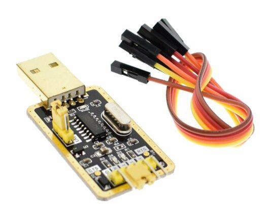 USB – TTL Serial Communication and Programming Adapter CH340 3.3V / 5V