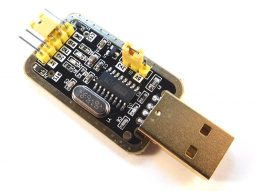 USB – TTL Serial Communication and Programming Adapter CH340 3.3V / 5V