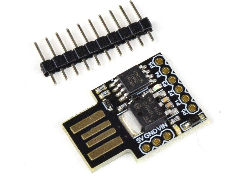 Attiny85 Kickstarter USB Development Board (100% compatible with Arduino)