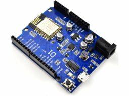 WEMOS D1 Arduino compatible ESP8266 WiFi Board 80-160MHz – IoT – NodeMCU