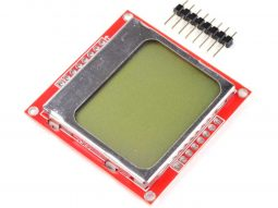 LCD Display 84*48 Pixel – SPI – Backlight – Nokia 5110 for Arduino etc.