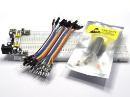 Arduino Large breadboard 830 Kit with Atmega328P Power Supply and Wires