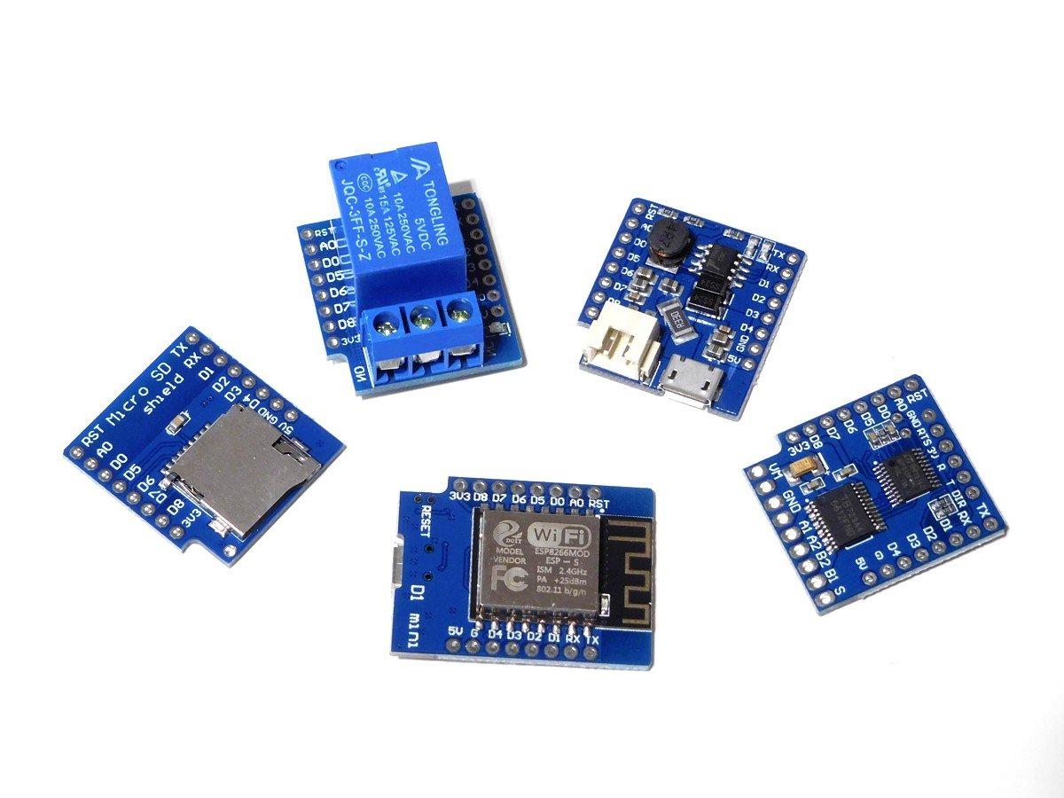 WEMOS D1 Mini ESP8266 Wi-Fi IoT Module (100% compatible with Arduino)