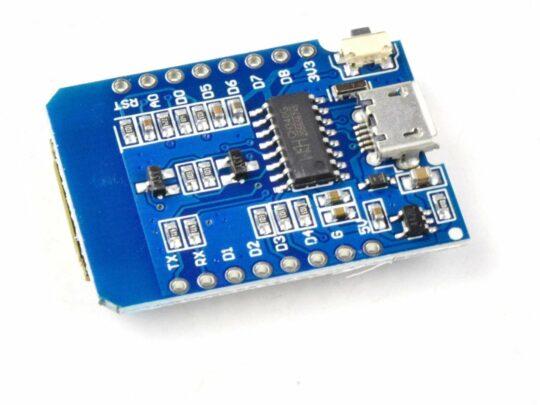 WEMOS D1 Mini ESP8266 compatible WiFi Module – Arduino and Lua Compatible