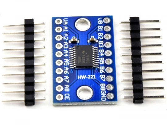 2 pcs TXS0108E Logic Level Shifter Converter 8 Channel 1.8V 2.5V 3.3V 5V