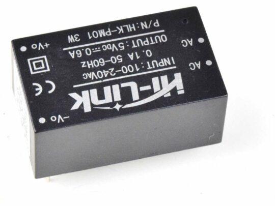 AC-DC Converter 100-240V to 5V 0.6A 3W – Encapsulated Power Supply for PCB