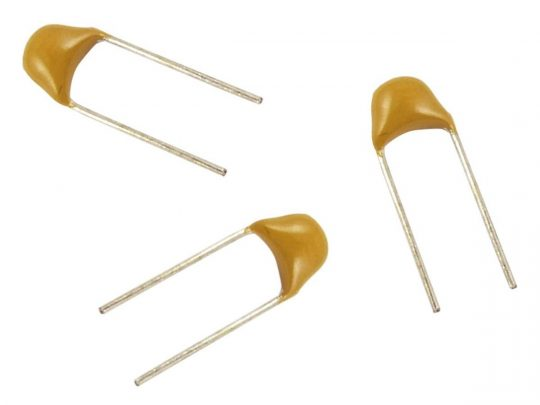Capacitor 2.2F 25V 5mm Ceramic
