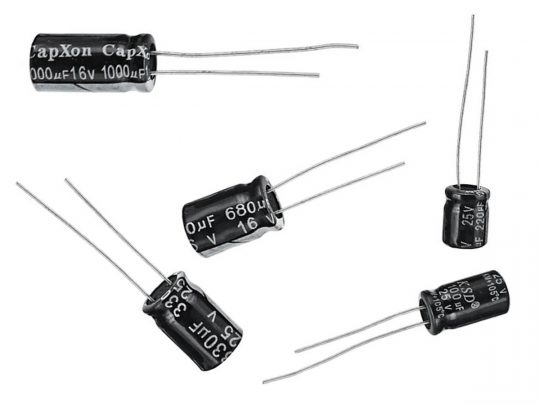 Electrolytic Capacitor 680µF 40V 5mm