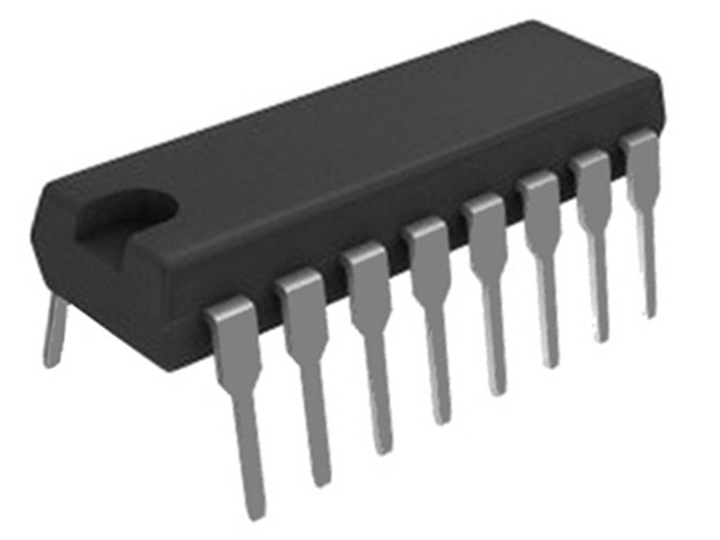 74HC595 8-Bit Shift Register With 3-State Output DIP-16