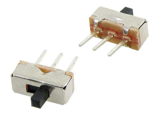 Slide Switch 3P 2.5mm Pitch