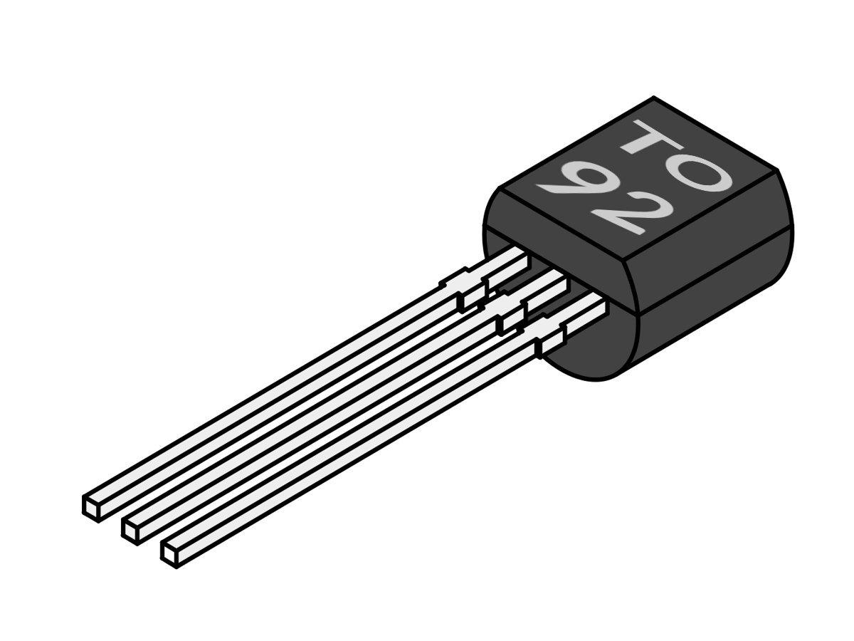 10 x Transistor SS8050 NPN TO-92