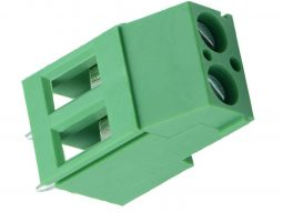 Terminal Block 5.08-2P Rising Cage Clamp