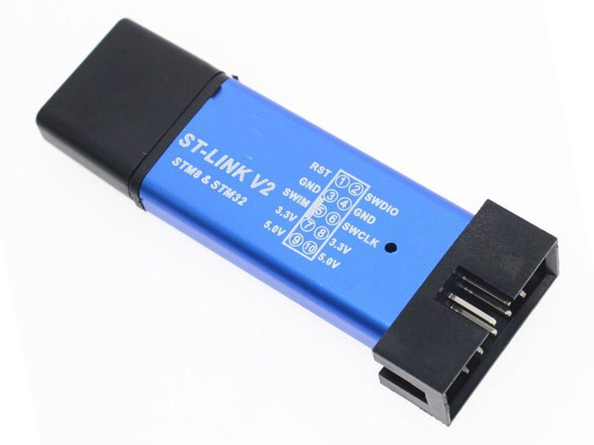 ST-LINK V2 USB Dongle Programmer and Debugger for STM8 STM32