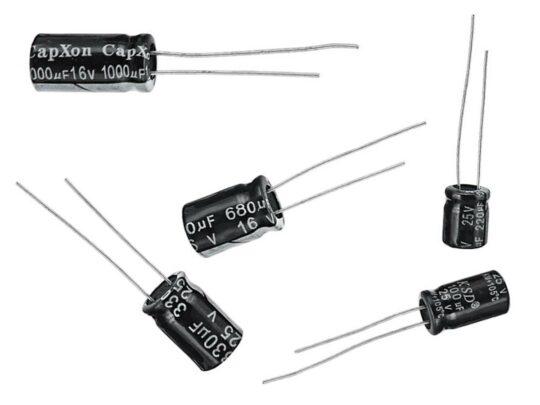 120 pcs Ultimate Electrolytic Capacitors Kit 220nF-470uF