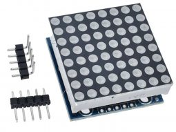 8×8 LED MAX7219 single module GREEN