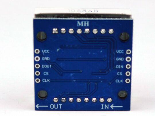 8×8 LED MAX7219 single module BLUE