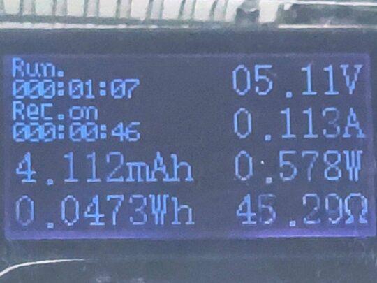 USB 3.0 Voltmeter Ammeter Wattmeter – OLED Display
