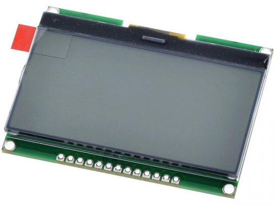 Graphic LCD 128×64 SPI – Black and White – ST7565R Controller