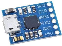 CP2102 USB – UART Bridge TTL Serial Communication Interface 3.3V – 5V
