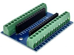 Screw Terminal Adapter for Arduino NANO and CANADUINO Bread Board Buddy