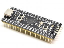 "STM32 Pro ""Black Pill"" STM32F411CEU6 – 128M extra Flash – 100MHz – 512k internal Flash – 128k RAM – no soldering"