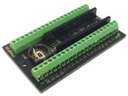 STM32 Screw Terminal Adapter for 'Blue Pill' STM32F103 and 'Black Pill' STM32F4x1 – DIY kit