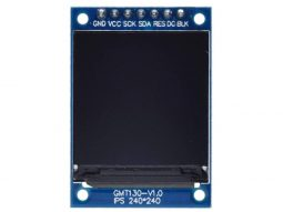 TFT IPS Display 1.3 inch – 240×240 pixel – ST7789  SPI Interface