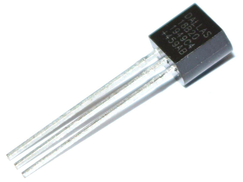 Maxim DALLAS DS18B20+ Digital Temperature Sensor – 3 to 5.5V