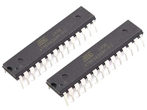 CANADUINO 2 x Atmega328P-PU Replacement Chip for Arduino UNO R3 – Bootloader and Blink Installed
