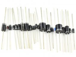 255 pcs Schottky and Rectifier Diodes Ultimate Kit 1N5408 1N5819 1N5822 6A10 10A10 etc.