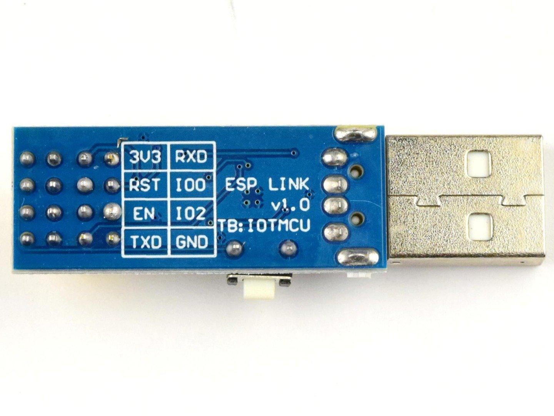ESP-01 USB Programming Interface for ESP8266 – CP2104 USB