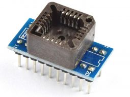Socket Adapter PLCC20 SMD to DIP-20