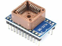 Socket Adapter PLCC28 SMD to DIP-24