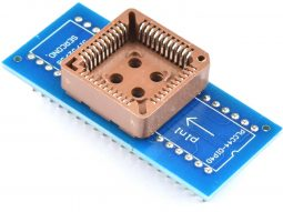 Socket Adapter PLCC44 SMD to DIP-40